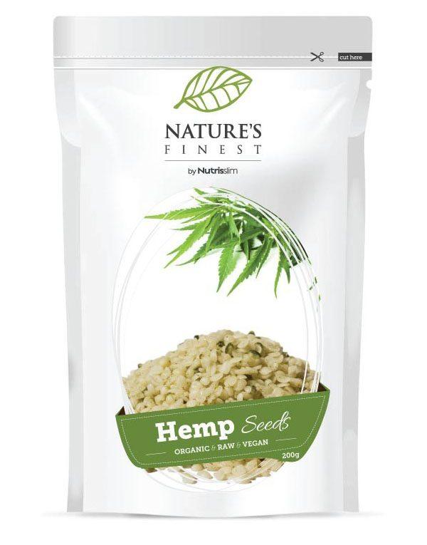 Nutrisslim oluščena konopljina semena (200g)